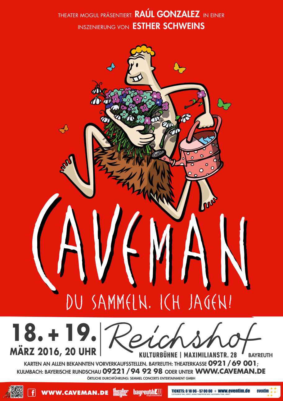 Caveman–eine Inszinierung von Esther Schweins –Reichshof Bayreuth